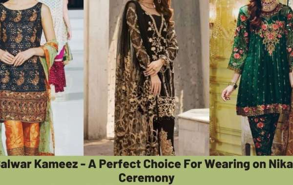 Salwar Kameez - A Perfect Choice For Wearing on Nikah Ceremony